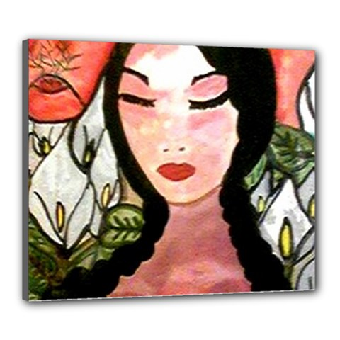 CANVAS D LA CHAPANECA 20  x 24  Framed Canvas Print