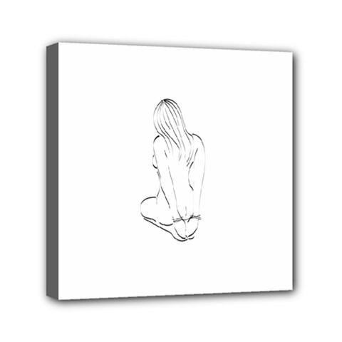 Bound Beauty 6  X 6  Framed Canvas Print