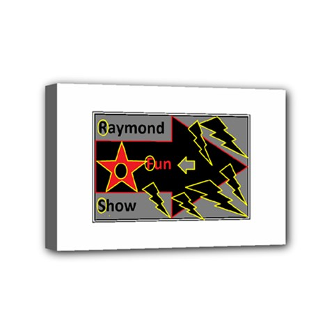 Raymond Fun Show 2 4  x 6  Framed Canvas Print