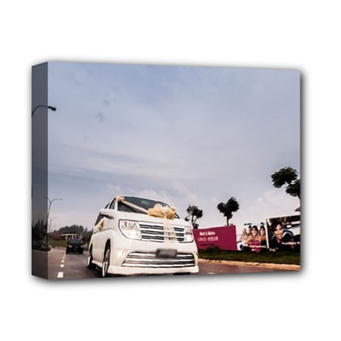 Wedding Car Deluxe Canvas 14  x 11  (Stretched)