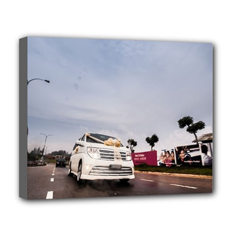 Wedding Car Deluxe Canvas 20  X 16  (stretched)