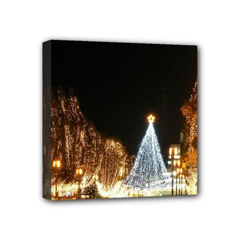 Christmas Deco 4  x 4  Framed Canvas Print
