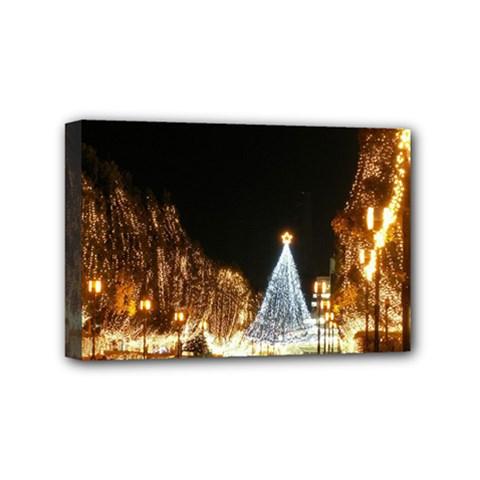 Christmas Deco 4  X 6  Framed Canvas Print
