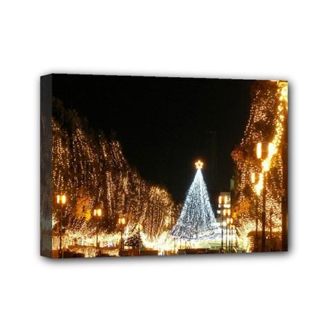 Christmas Deco 5  X 7  Framed Canvas Print