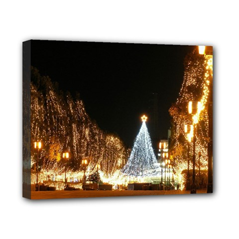 Christmas Deco 8  x 10  Framed Canvas Print