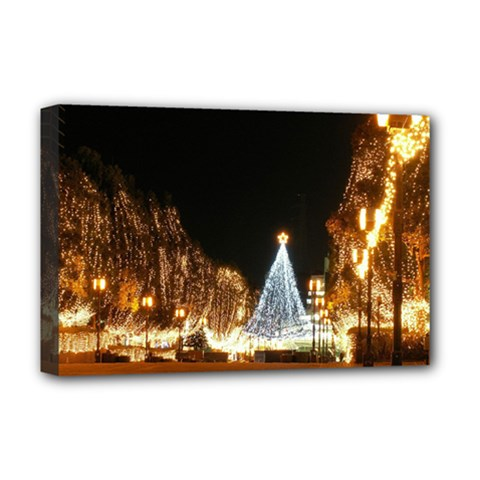 Christmas Deco Deluxe Canvas 18  x 12  (Stretched)