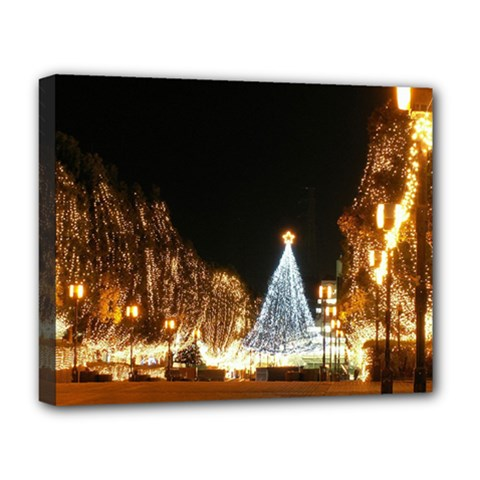 Christmas Deco Deluxe Canvas 20  x 16  (Stretched)