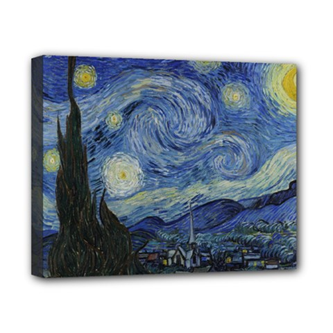 Starry night Canvas 10  x 8  (Framed)
