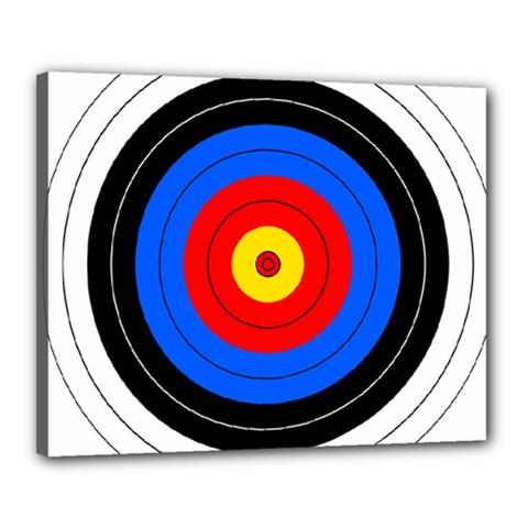 Target Canvas 20  x 16  (Framed)