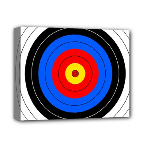Target Deluxe Canvas 14  x 11  (Framed)