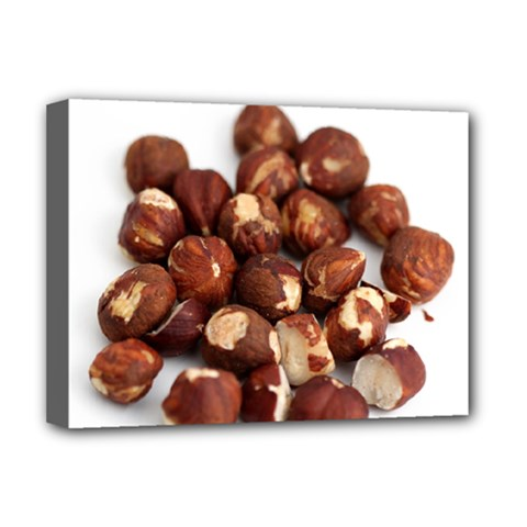 Hazelnuts Deluxe Canvas 16  x 12  (Framed)