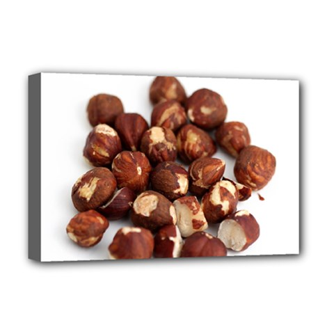 Hazelnuts Deluxe Canvas 18  x 12  (Framed)