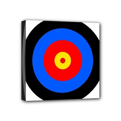 Target Mini Canvas 4  X 4  (framed)