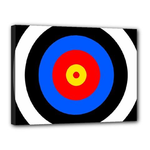 Target Canvas 16  x 12  (Framed)