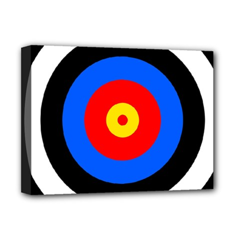 Target Deluxe Canvas 16  x 12  (Framed)