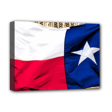 TEXAS Deluxe Canvas 16  x 12  (Framed)