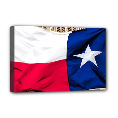 TEXAS Deluxe Canvas 18  x 12  (Framed)