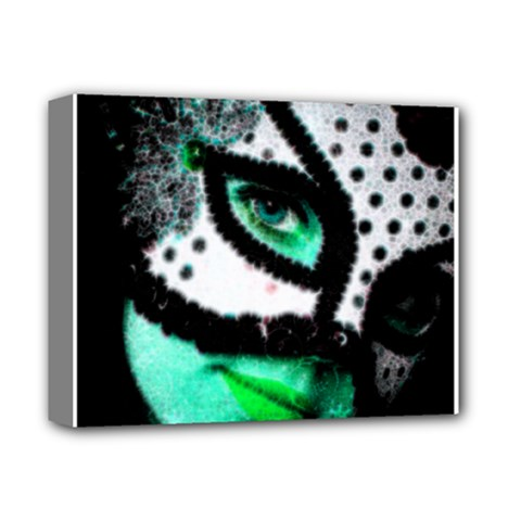 MASKED Deluxe Canvas 14  x 11  (Framed)