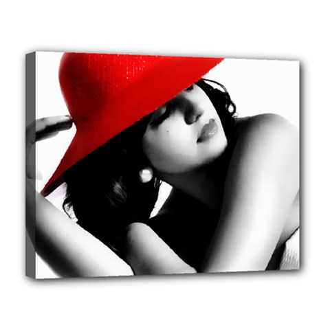 RED HAT Canvas 14  x 11  (Framed)