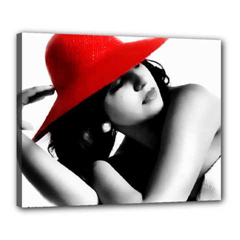 RED HAT Canvas 20  x 16  (Framed)