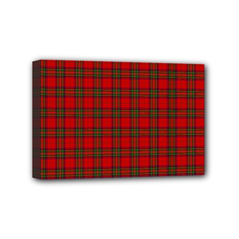 The Clan Steward Tartan Mini Canvas 6  x 4  (Framed)