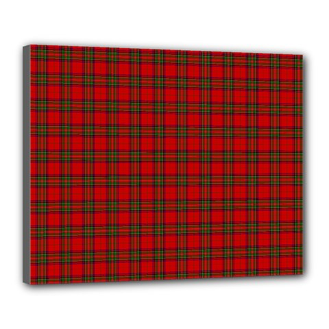 The Clan Steward Tartan Canvas 20  x 16  (Framed)