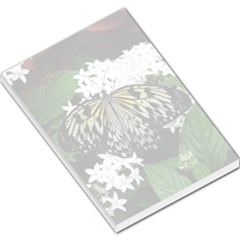 Black/White Butterfly Large Memo Pad