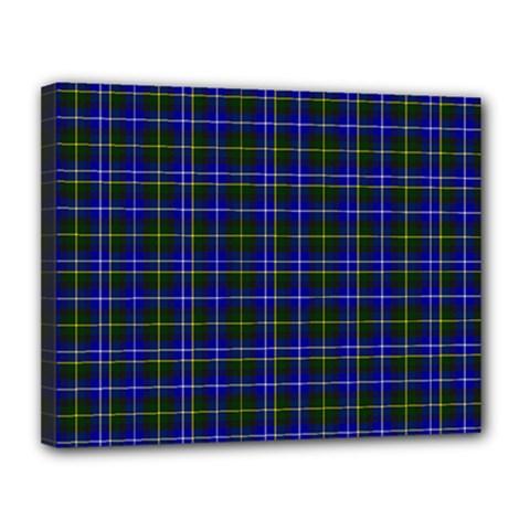 Macneil Tartan - 1 Canvas 14  x 11  (Framed)