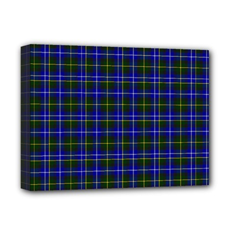 Macneil Tartan - 1 Deluxe Canvas 16  x 12  (Framed)