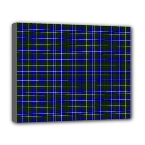 Macneil Tartan - 1 Deluxe Canvas 20  x 16  (Framed)