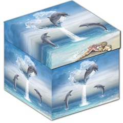 The Heart Of The Dolphins Storage Stool 12