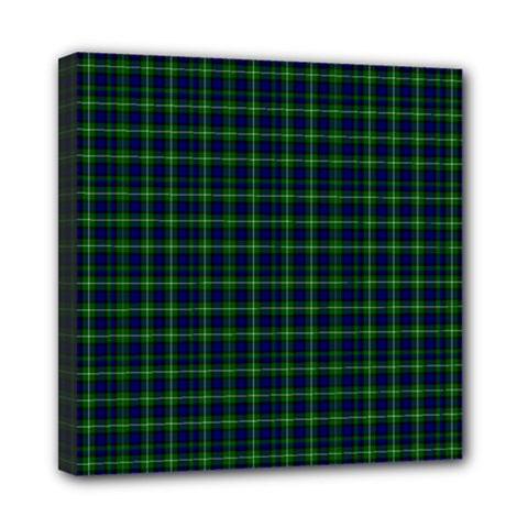Lamont Tartan Mini Canvas 8  x 8  (Framed)