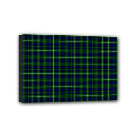 Lamont Tartan Mini Canvas 6  x 4  (Framed)