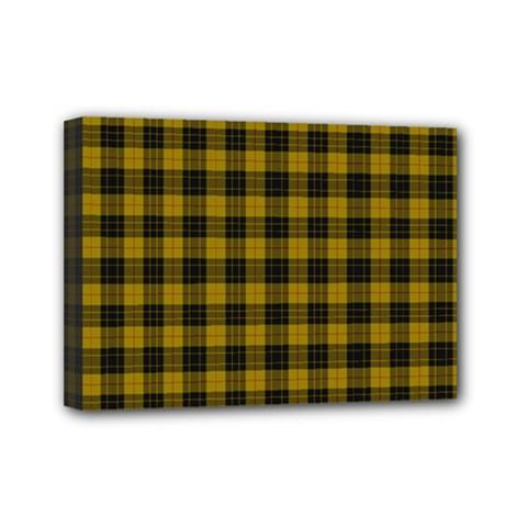 MacLeod Tartan Mini Canvas 7  x 5  (Framed)