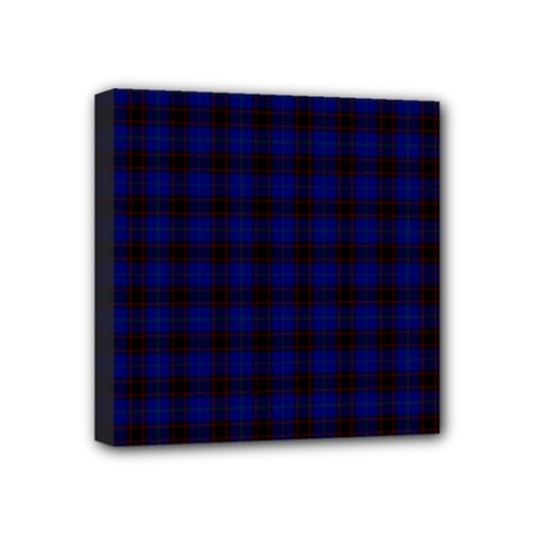 Homes Tartan Mini Canvas 4  x 4  (Framed)