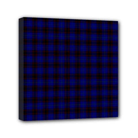 Homes Tartan Mini Canvas 6  x 6  (Framed)