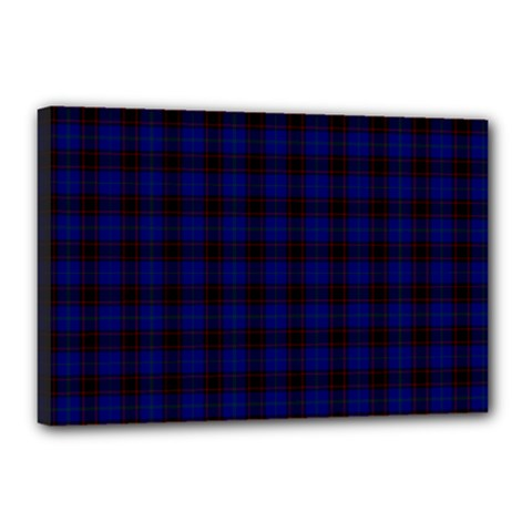 Homes Tartan Canvas 18  X 12  (framed)