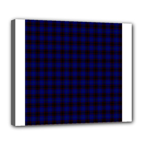 Homes Tartan Deluxe Canvas 24  X 20  (framed)