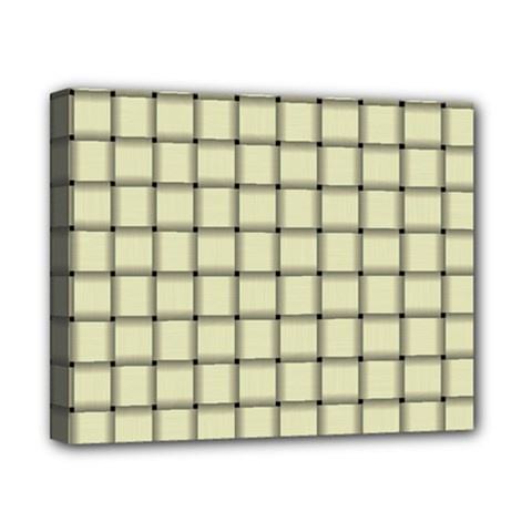 Cream Weave Canvas 10  X 8  (framed)