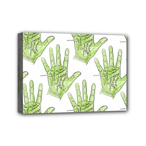 Palmistry Mini Canvas 7  x 5  (Framed)