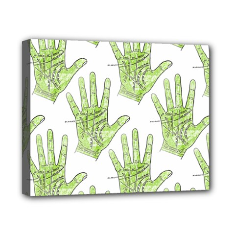 Palmistry Canvas 10  x 8  (Framed)