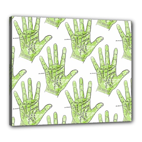Palmistry Canvas 24  x 20  (Framed)
