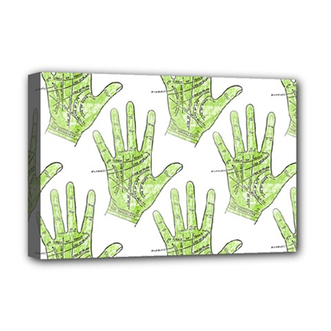 Palmistry Deluxe Canvas 18  x 12  (Framed)