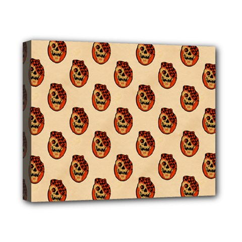 Vintage Halloween Canvas 10  x 8  (Framed)