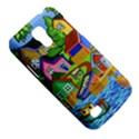 Three Boats & A Fish Table Samsung Galaxy S4 Mini Hardshell Case  View5