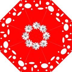 Daisy Circle Poppy Bridesmaids Umbrella