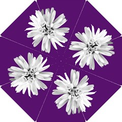 Floral Purple Bridesmaid Umbrella