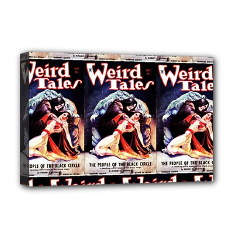 Weird Tales Volume 24 Number 03 September 1934 Deluxe Canvas 18  x 12  (Framed)