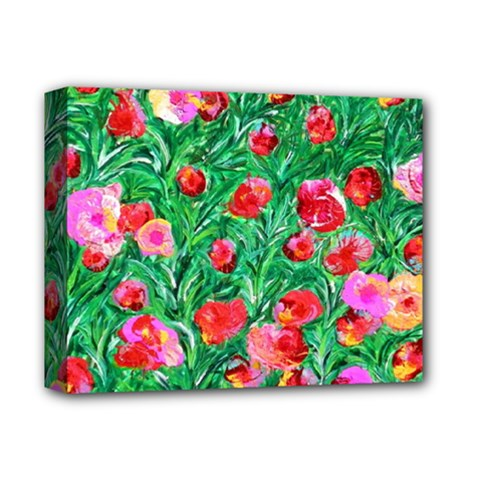 Flower Dreams Deluxe Canvas 14  x 11  (Framed)