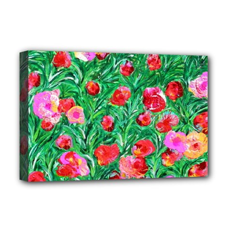 Flower Dreams Deluxe Canvas 18  x 12  (Framed)